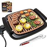 Nonstick Electric Indoor Smokeless Grill -...