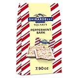 Ghirardelli Peppermint Bark Squares Bag, Milk Chocolate, Peppermint Bark Milk Chocolate, 7.9 oz