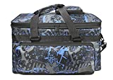 Sac besace pour Kit d'artist Sac Artiste Boîte Rangement Grande Trousse de Transporte pour Matériaux de dessin Sac Mallette peinture (Bleu)