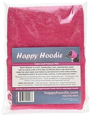 Happy Hoodie Set, Pink, Pack of 2