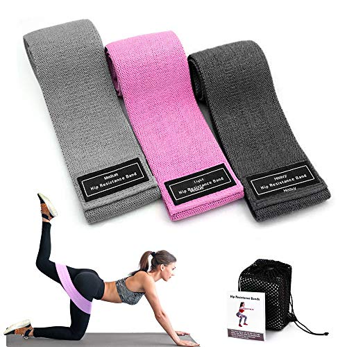 Resistance Bands Fitnessbänder,Evershop Resistance Loop Bands Pilates Pull Up Trainingsband Exercise Gymnastik Sport Hip Bands Fitnessband Expander Set Perfekt für Hintern,Beine und Ganzkörpertraining