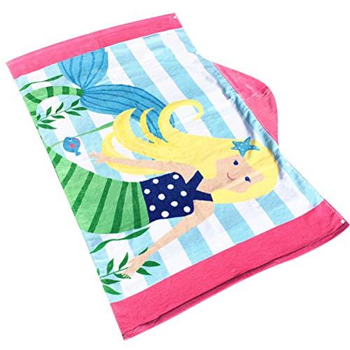 Kinder Kapuze Strand Badetuch 100% Baumwolle Super Soft Bademantel Baumwolle Poncho Kindertuch Schwimmen Mädchen Jungen