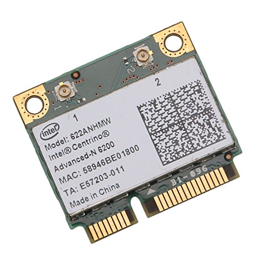 Ontracker Int-EL Half 622AN 6200 - Tarjeta mini PCI (300 Mbit/s, para De-ll Acer Gateway Notebook Hot