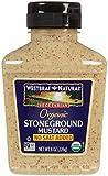Westbrae Organic Stoneground Mustard No Salt Added, 8 Ounce...