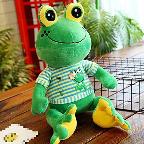 APcjerp Muñeco de Peluche 65cm Peluche Lindo con Forma de Rana Caliente Relleno muñeca de Juguete de Peluche de la Rana Verde Linda muñeca Animal Hslywan