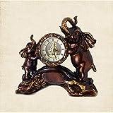 Pkfinrd Reloj Despertador casa casa Sala de Estar Reloj...