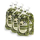 Pack of six 12-ounce bags (total of 72 ounces) All-natural, hand-crafted, homemade-texture egg fettuccine flavored by spinach Made of enriched semolina and durum-wheat flours and whole eggs Cooks in three minutes; certified kosher Ships in Certified ...