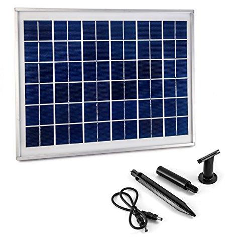 CLGarden Panneau solaire supplémentaire pour la pompe solaire NASP3 10 W 10W 10 watts