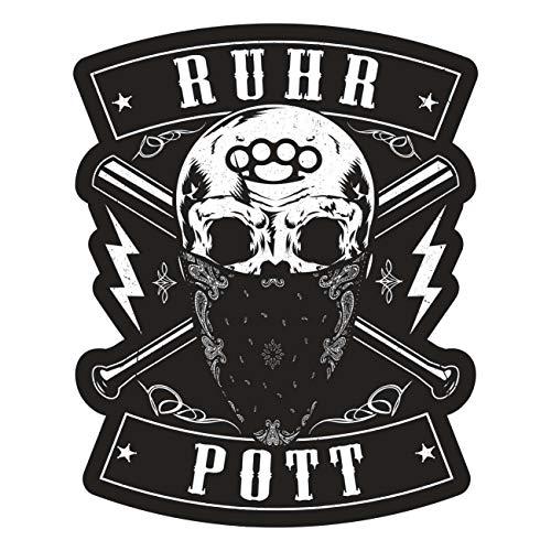 Aufkleber Ruhrpott Fuck The World(Wetterfest)