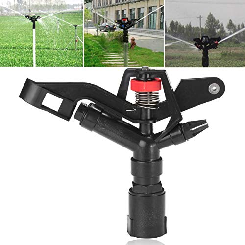Generic 1'' Inch DN25 Water Irrigation Gun Sprinkler Nozzle Lawn Planting Spray Head