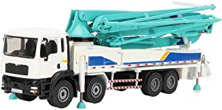 Ponacat RC Concrete Pump Truck Construction Equipment Vehicle Wireless Alloy Engineering Excavator Car 1:55 Scale