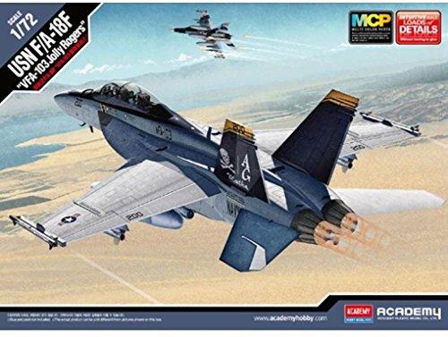 1/72 USN F/A-18F VFA-103 Jolly Rogers #12535 Academy Hobby Kits