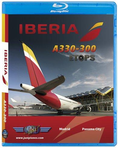 Iberia Airbus A330 ETOPS to Panama City [Blu-ray]