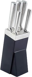 Kuppels 600067100 6 Piezas de Cuchillos, Colour Negro y Professional Style