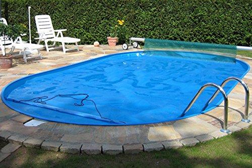 MyPool Ovalbecken-Poolset Trend 450 x 250 x 120 cm mit Sandfilteranlage