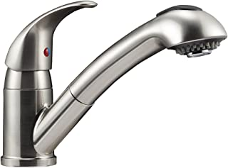 Dura Faucet DF-NMK852-SN RV Pull-Out Kitchen Faucet (Brushed Satin Nickel)