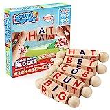 Wooden Reading Blocks | [5] Sets of Fun, Educational...