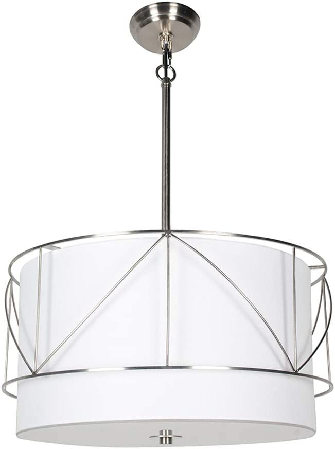 Vinsniv Premium Overseas parallel import regular item Drum Kitchen Chandelier Ceiling Over item handling ☆ Convertible Hang