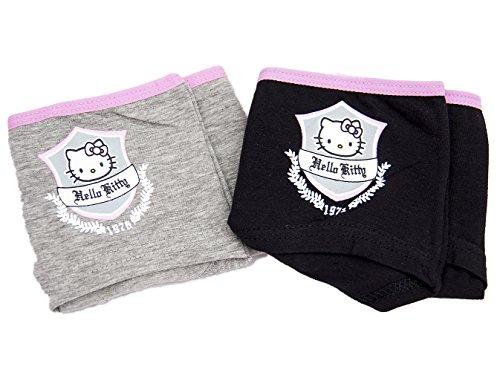 Hello Kitty Panty, Grau /Schwarz, 36-38