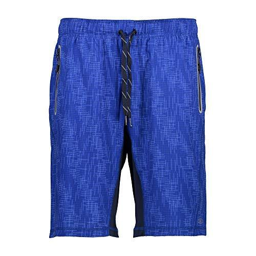CMP Shorts Pantalon Court Un Fitness Bermuda Blau Respirant Élastique - Bleu, 50