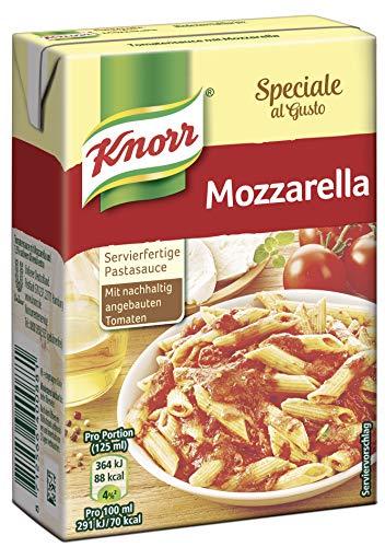 Knorr Speciale al Gusto Mozzarella Soße, 1er-Pack (1 x 370 g)