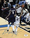 Ben Wallace Signed Photograph - 8x10 - PSA/DNA Certified - Autographed NBA Photos