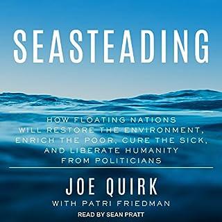 Seasteading audiobook cover art