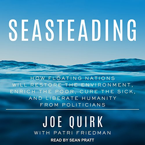 Seasteading audiobook cover art