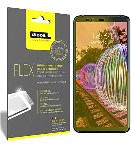 dipos I 3X Schutzfolie 100prozent kompatibel mit JVC J20 Folie (Vollständige Bildschirmabdeckung) Bildschirmschutzfolie