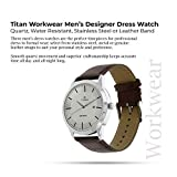 Titan Analog Silver Dial Men's Watch NM1584SL03 / NL1584SL03