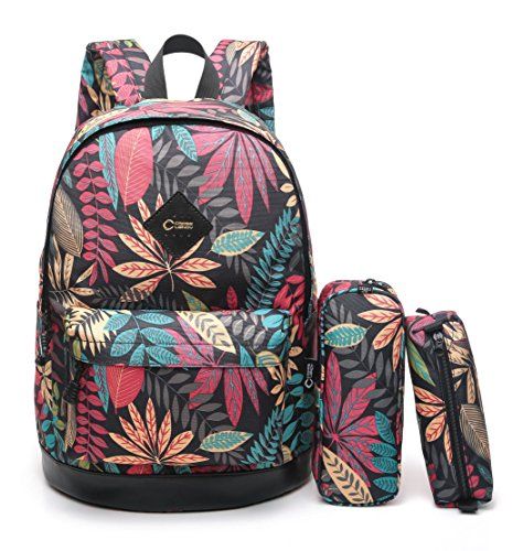 "CrossLandy Kids School Bookbag Lightweight Girls College 15"" Laptop..."