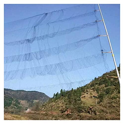 ZCXIONG Nylon Negro Anti Bird Net Malla Evitar la Caza Captura Herramientas Jardín Herramientas Vegetales Orchard Vineyard Protect Netting (Color : Black, Size : 6 Pockets Wide)