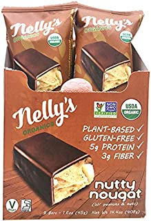 Nelly's Organics, Bar Nutty Nougat Organic, 1.6 Ounce