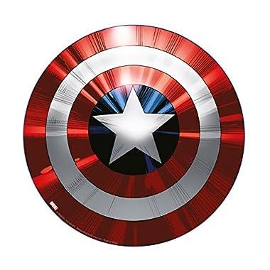 Marvel Avengers Captain America Shield Cutting Board - Non Slip Feet