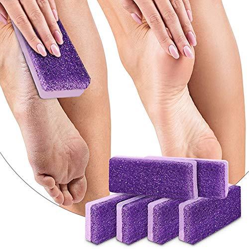 10 piezas de piedra pómez para pies, herramienta depuradora de pies para pedicura, removedor de callos para pies, cuidado de los pies para mujeres y hombres