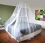 Zanzariera grande a baldacchino anti-insetti, 12 metri di copertura, ideale per casa o vacanze