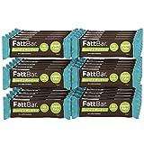 Coconut & Macadamia FattBar (Pack of 30) | 3 Gram Carbs Per Bar, Keto, Low Carb, No Added Sugar, All Natural, No Polyols, Healthy Fats, Delicious, Vegan
