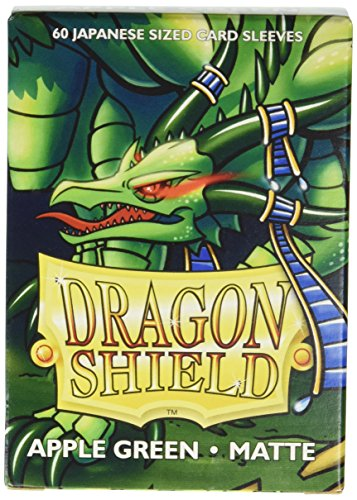Arcane Tinman Dragon Shield Sleeves - Matte Japanese Apple Green (60) Card Sleeves