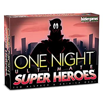Bezier Games One Night Ultimate Super Heroes Red