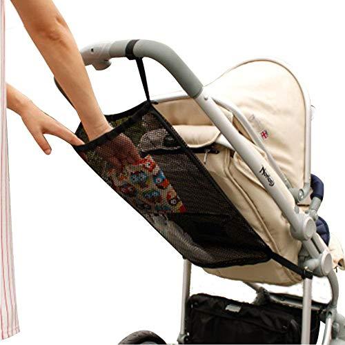 Bolsa para cochecito de bebé, organizador para cochecito, bolsa de almacenamiento, bolsa para cochecito colgante, paraguas de malla, bolsa de malla para cochecito de bebé, accesorio para cochecito