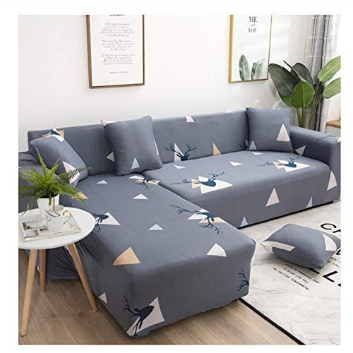 leere Ecksofaüberwurf, Kombi/L-Form/1/2/3/4 Sofabezug Sofabezug Sofabezug Sofabezug Elastomer All-Inclusive Dreieck, 190x230cm