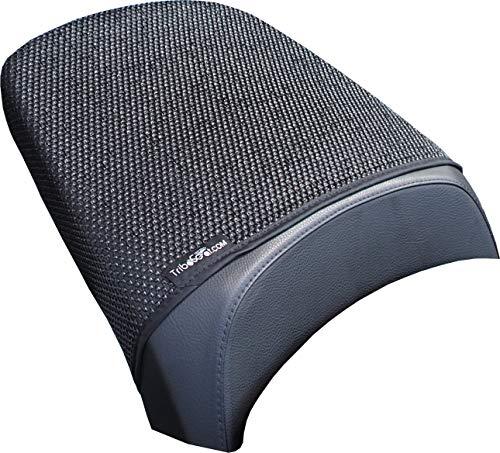 Cubierta TRIBOSEAT para Asiento Antideslizante Accesorio Personalizado Negro Compatible con BMW R1200RT LC (2014-2018)