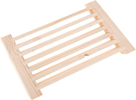 DYNWAVE Sauna Air Vent with Temperature and Water Resistant Wood 330 mm