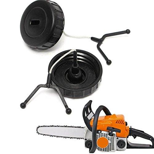 Bouchon de rŽservoir 2pcs Gardening Chainsaw gaz de remplacement pour Stihl 017 018 MS170 MS180