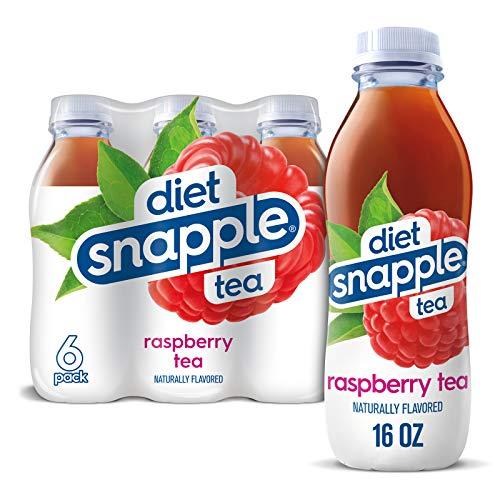 Snapple Diet Raspberry Tea, 16 Fl Oz Plastic Bottle, 6 Pack, 16 Fl Oz...