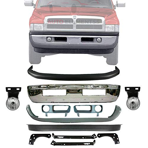 01 dodge ram 1500 front bumper - 4