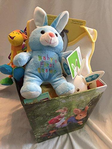 Baby's My First Easter Basket Playset- Baby Gund