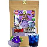 Matcha Blue 227g | OkO-OkO - Premium Guisantes mariposa Polvo Azul 100% Clitoria Ternatea de Tailandia sin aditivos - Infusión Té de hierbas Colorante alimentario natural Cocina Pastelería