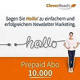 CleverReach Newsletter Software, Email Marketing Automation, Prepaid Abo 10.000,Web Browser, Monatliches Abonnement -