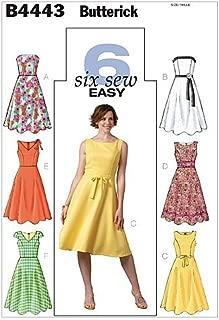 BUTTERICK PATTERNS B4443 Misses'/Misses' Petite Dress, Size BB (8-10-12-14)